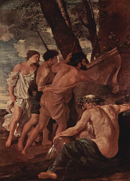 Nicolas Poussin l Et in Arcadia ego 1