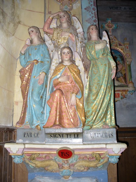 St. Madeleine Weihwasserbecken