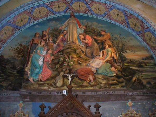 Kirchenfresko Rennes