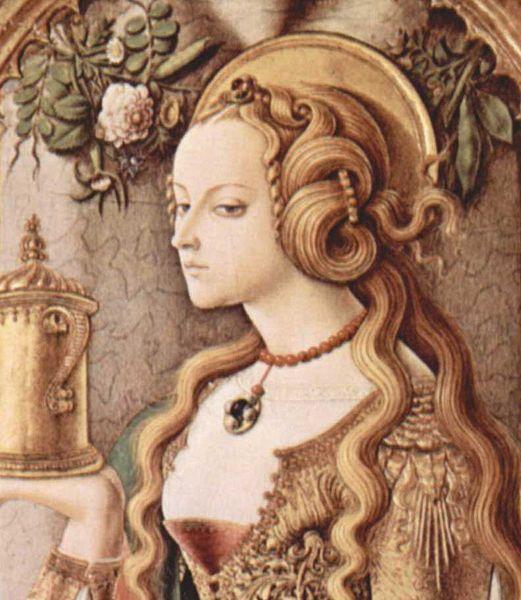 Carlo Crivelli- Heilige maria Magdalena