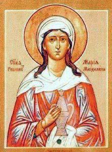 Maria Magdalene icon