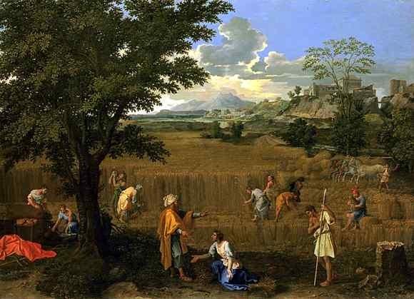 Nicolas Poussin l Der Sommer (Vier Jahreszeiten)