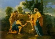 Nicolas Poussin, Die Hirten von Arkadien (1638–1640)