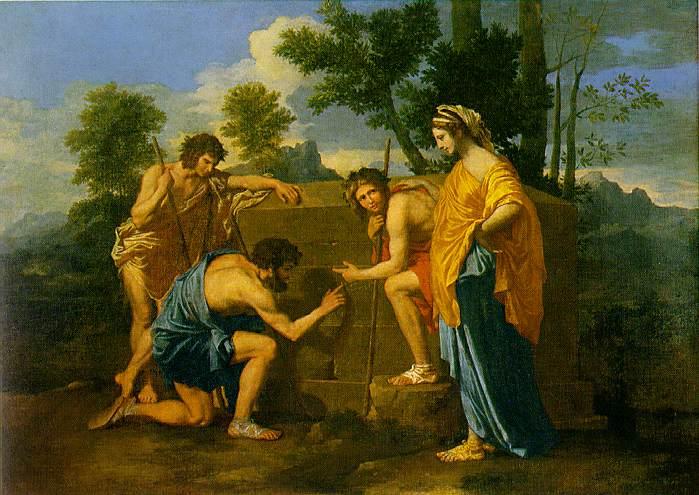 Nicolas Poussin, Die Hirten von Arkadien 2